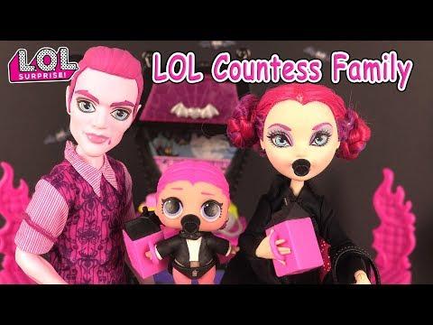 LOL Families The Countess Family LOL Surprise Dolls Fashion Crush