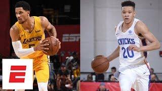 Kevin Knox and Josh Hart do battle in NBA Summer League matchup Knicks vs. Lakers | ESPN