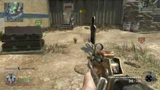 Black Ops Game Clip - BUG **something drags me** + 250XP