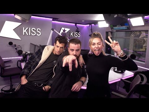 Miley Cyrus and Mark Ronson talk their Expensive Music Video and driving rubbish cars!