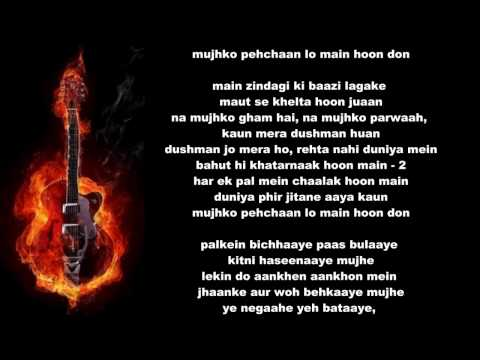 Main Hoon Don  Don - 2006-karaoke By Yakub.mp4 video