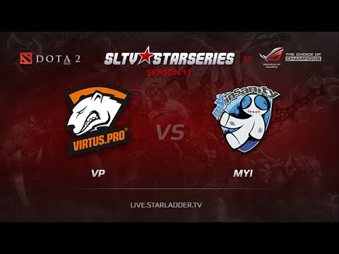VP vs mYi Starladder XI Europe Day 17