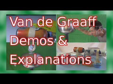 Van de Graaff Demonstrations and Explanations
