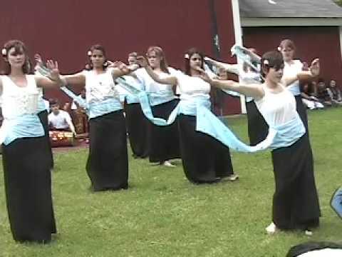 Female Balinese Dance - Buxton School 2008-2009