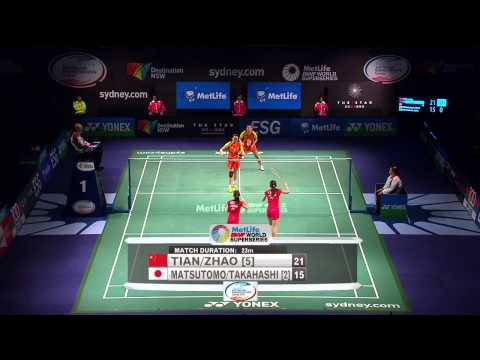 2014 The Star Australian Badminton Open-f-wd-tian zhao (chn) [5] Vs Matsutomo takahashi (jpn) [2] video