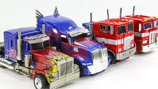 Transformers Big OverSized Movie G1 Optimus Prime 4 Truck Vehicles Car Robots Toys