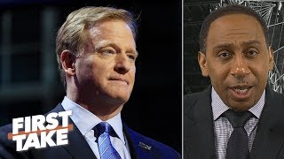 The NFL should not allow marijuana to be used for pain management - Stephen A. | First Take
