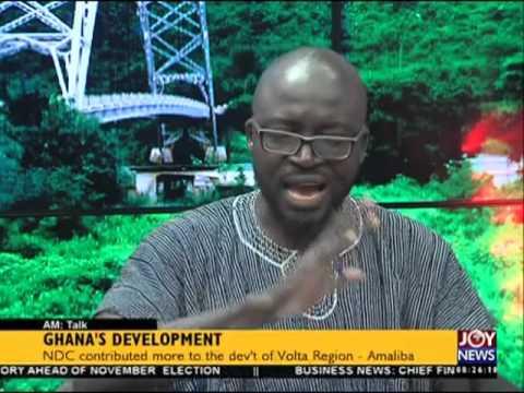 Ghana's development - AM Talk on Joy News (8-4-16)