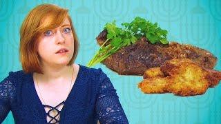 Irish People Taste Test Hanukkah Food