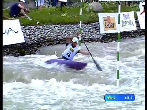 Canoe Slalom World Cup Race 2 Bratislava/SVK 2009