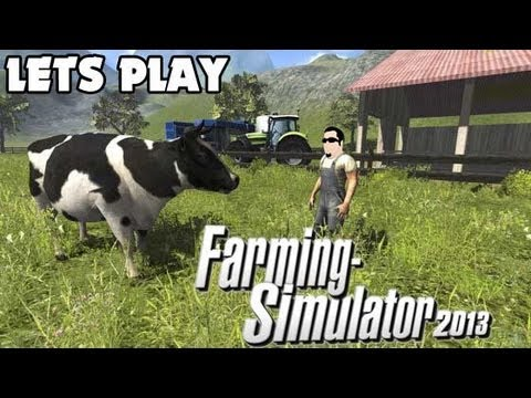 Lets Play   Farming Simulator 2013 with Crazylogie   EP 60   Mow for Silage