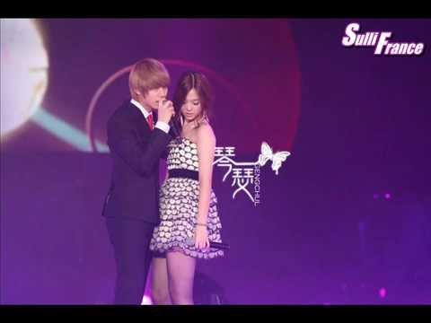 Sulli Dan Heechul Kim Heechul ft Sulli The Way