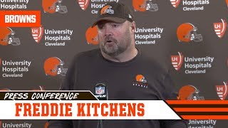 Freddie Kitchens Defends Controversial T-Shirt After Loss | Cleveland Browns