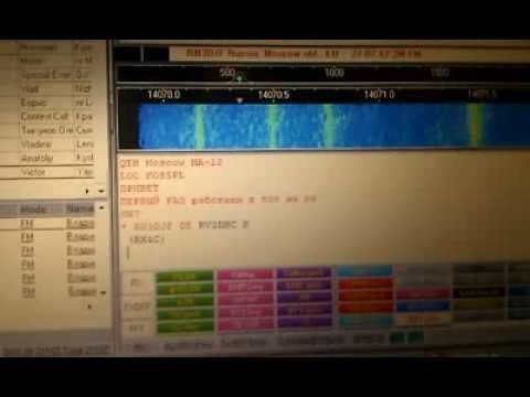 BPSK31 QSO to RN3DJF on 14 MHz