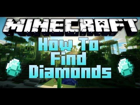 Minecraft: How To Find Diamonds - Fastest Way! [1.7.9] [2014]