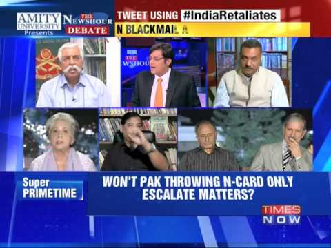 The Newshour Debate: India Retaliates - Part 2 (9th Oct 2014)