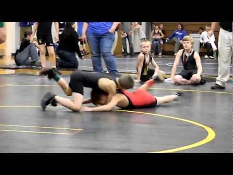 12-3-11 Crescent High School future Wrestler Alex Donald from Team Tiger (4th Match)