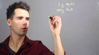 How to Measure Parts Per Million in Chemistry : Solving Math Problems