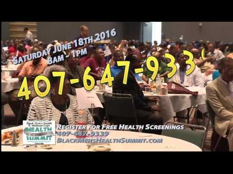 PSA   Black Mens Health Summit 2016