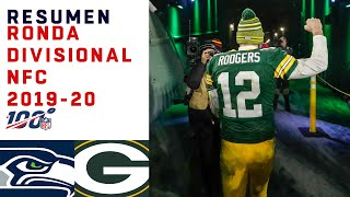Rodgers jugó como leyenda y Packers va a la Final de la NFC | Highlights Seahawks vs Packers