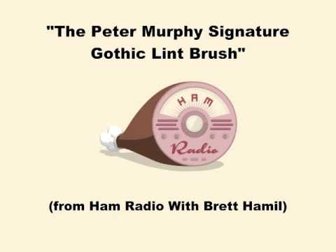 The Peter Murphy Signature Gothic Lint Brush