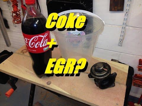 Can Coca Cola clean an EGR Valve? (Experiment)