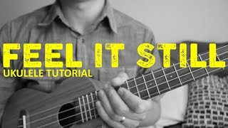Download Lagu Feel It Still - Portugal the Man - EASY Ukulele Tutorial - Chords - How To Play Gratis STAFABAND