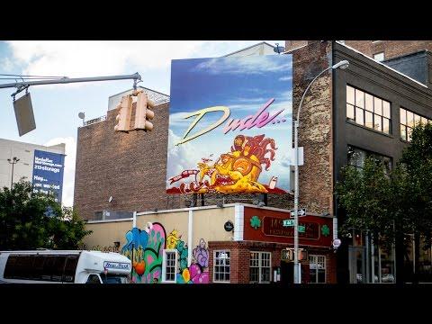 "Street Artists The Yok & Sheryo Make ""Dude"" Cooler"