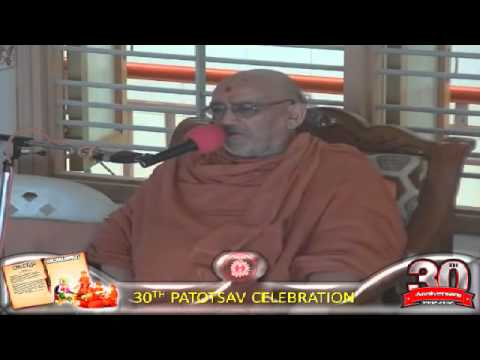 Cardiff Temple 30th Patotsav 2012 - Day 7 - Morning Vachnamrut Katha