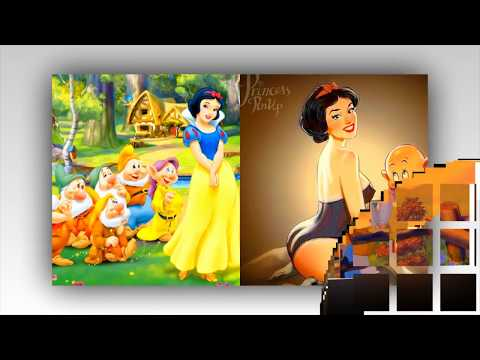 Disney Princesses as Modern BAD GIRLS!