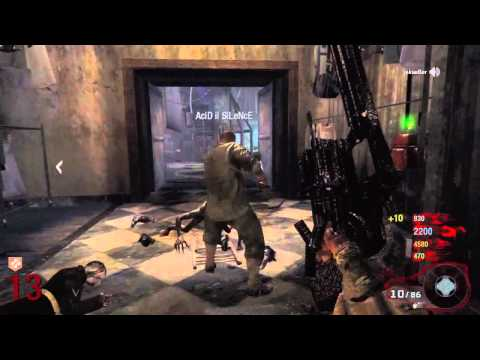 Black Ops: ZOMBIES Pistol Only Quad Live Commentary Music Videos
