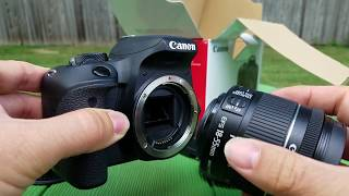 03. Canon Rebel EOS T7i Tutorial with Demos part 1