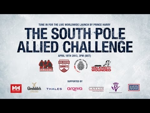Walking With The Wounded South Pole Allied Challenge Expedition Launch: Friday 19th April 2013