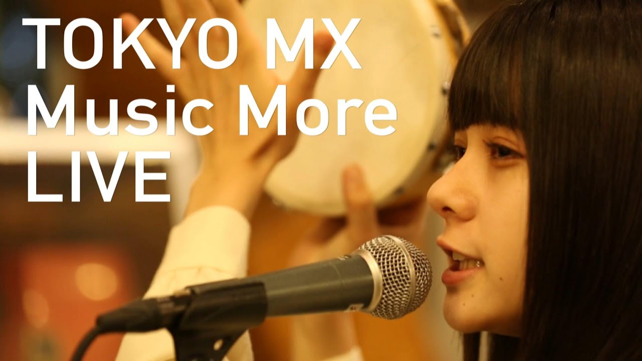 """SOLEIL (ソレイユ) - TOKYO MX「Music More」から""""ファズる心""""、""""ハイスクールララバイ""""2曲のライブ映像を公開 thm Music info Clip"""