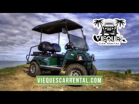 Vieques Golf Cart Rentals - The Muddy Facts