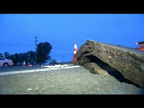 Worst earthquake in 25 years rocks California