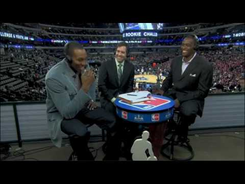 Dwight Howard does Stan Van Gundy and Charles Barkley :)