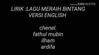Lirik lagu meraih bintang.versi english