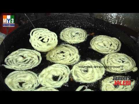 JAGGERY JALEBI | Most Popular Street Food in India | HYDERABADI STREET FOOD