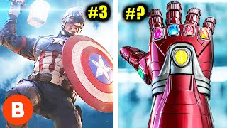 Marvel's Most Powerful Weapons Ranked