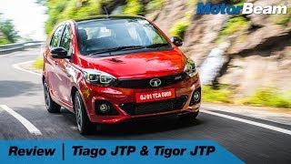 Tata Tiago JTP, Tigor JTP Review In Hindi | MotorBeam हिंदी