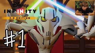 Disney Infinity 3.0: INTRO + Twilight of the Republic #1 | GENERAL GRIEVOUS | KID GAMING