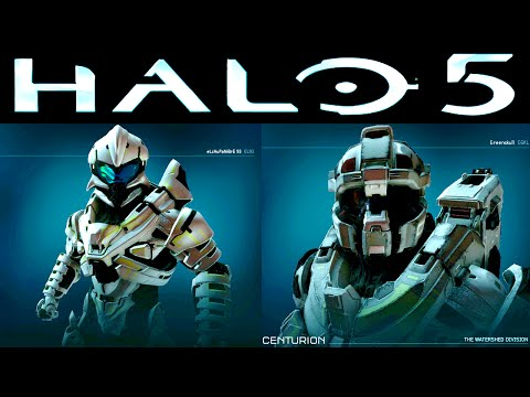 ALL Halo 5 Beta ARMOR Customization (All Halo 5 Unlocks) SR38