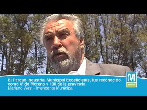 El Parque Industrial Municipal Ecoeficiente, fue reconocido como 4° de Moreno y 100 de la provincia