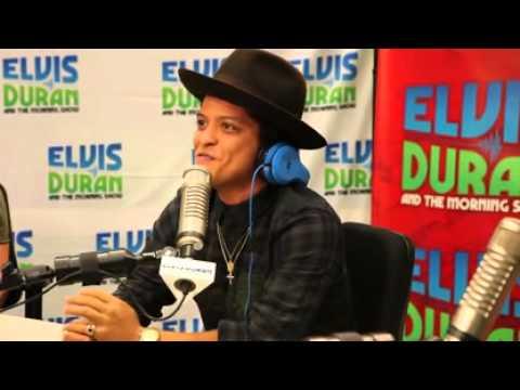 Bruno Mars Interview with Elvis Duran