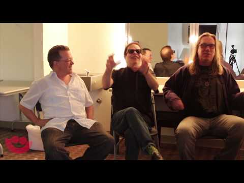 Backstage with Violent Femmes