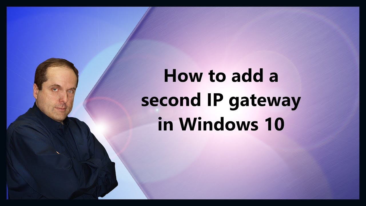 how to know gateway ip