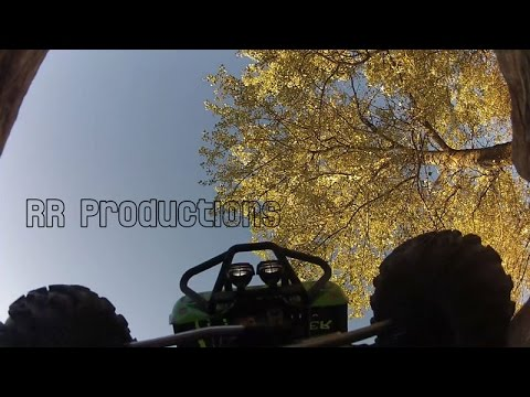 Axial Wraith and Honcho at Frank's Rock'n'Roll Rock Crawler Track