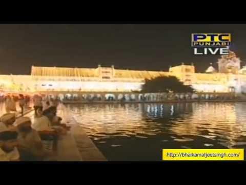 Amrit Vela Gurbani Keertan + Fireworks Sri Darbar Sahib - Bhai Kamaljeet Singh Ji Hazoori Ragi video