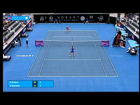 Heather Watson V Sloane Stephens Match Highlights